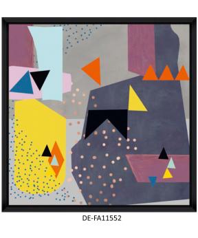 Obraz Abstract Triangles I 70x70 DE-FA11552 MINDTHEGAP