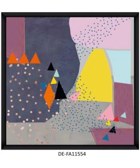 Obraz Abstract Triangles II 70x70 DE-FA11554 MINDTHEGAP