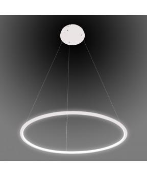 Lampa wisząca Ledowe Okręgi No.1 biała Φ60 cm in 4k...