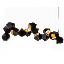 Lampa wisząca NEW GEOMETRY-14 czarno-złota ST-8861-14...