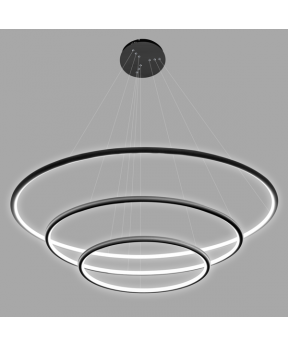Lampa wisząca Ledowe Okręgi No.3 Φ230 cm...